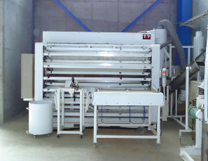 蛍光管処理機